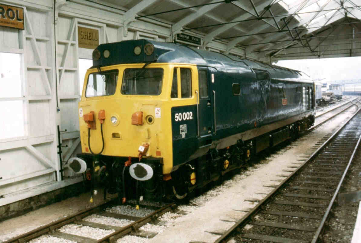 Class 50 Diesel Photo Gallery - 50002 photo area